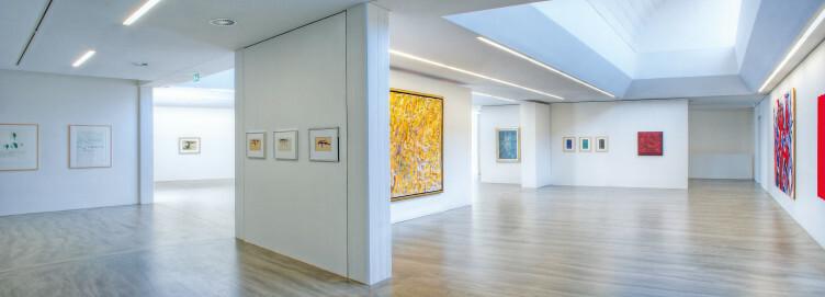 Innenansicht Ausstellungsräume