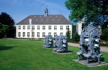 Museum Voswinckelshof - Gartenansicht