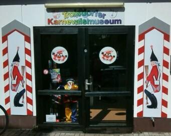 Eingangsbereich des Troisdorfer Karnevalsmuseums