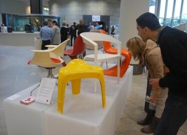 """Ausstellung """"Kunststoff mach Design"""", 2012 Landtag NRW"""