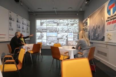 Eine Vielzahl politischer Themen prägte die über 40-jährige Arbeit der Abgeordneten am historischen Sitz des Landtags im Düsseldorfer Ständehaus. Wichtige Akteure und Entscheidungen lernen Gäste der Dauerausstellung multimedial kennen.