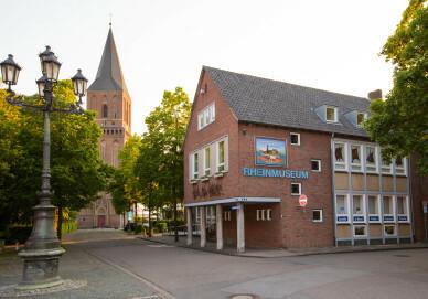 Gebäudeansicht Rheinmuseum
