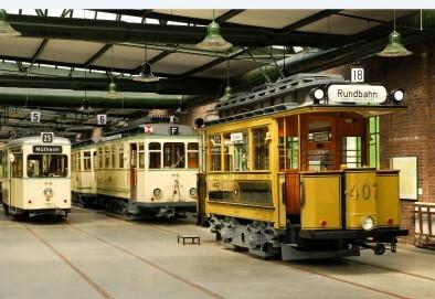Straßenbahn-Museum Thielenbruch, Halle