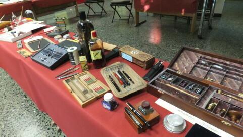 Ausstellung Schreibwerkzeuge