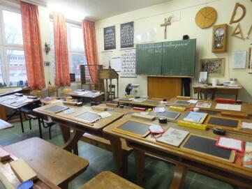 Klassenzimmer, vorn