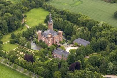 Schloss Moyland - Luftaufnahme
