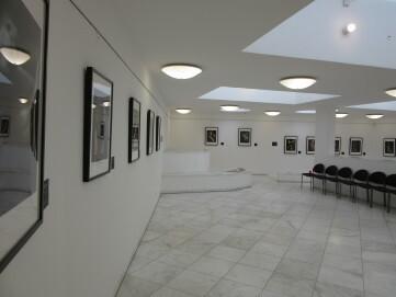 Raum mit Wechselausstellungen