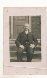 Der Metzgermeister Moses Seligmann, um 1920