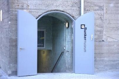 Eingang zum Bunkermuseum