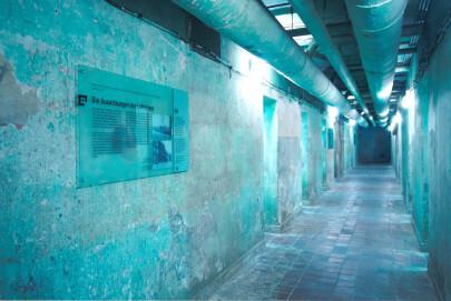 Gang im Bunkermuseum