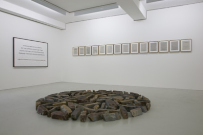 Museum DKM; Richard Long, Cornish Slate Circle, 1983