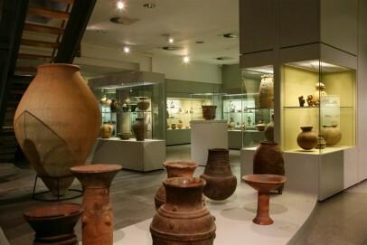 Abteilung afrikanische und präkolumbianische Keramik