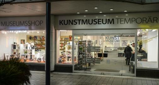 Blick von außen in das MUSEUM TEMPORÄR