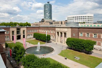 Kunstpalast, Außenansicht