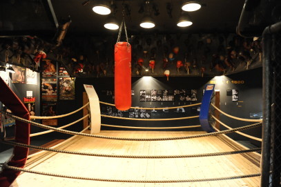 Boxring, Ausstellung