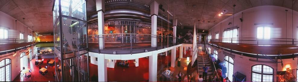 Panorama-Ansicht, innen