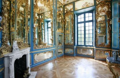 Schloss Falkenlust in Brühl, Spiegelkabinett