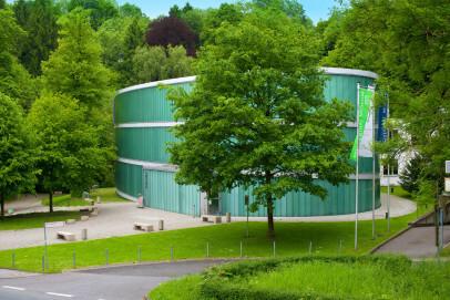 Museumsgebäude, Aussenansicht