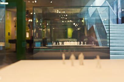 Dauerausstellung im Neanderthal Museum