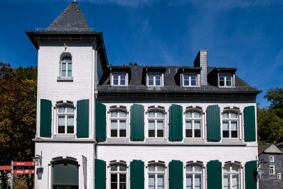 Kunst- und Kulturzentrum (KuK) der StädteRegion Aachen, von der Austraße aus gesehen