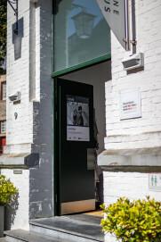 Eingangsbereich des Kunst- und Kulturzentrums (KuK) der StädteRegion Aachen in Monschau