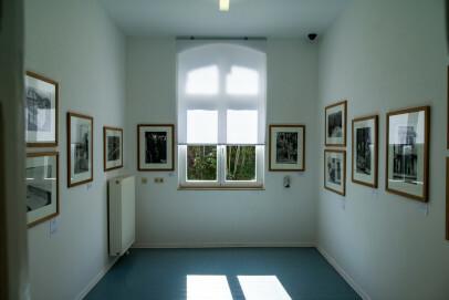Innenraum des Kunst- und Kulturzentrums (KuK) der StädteRegion Aachen in Monschau