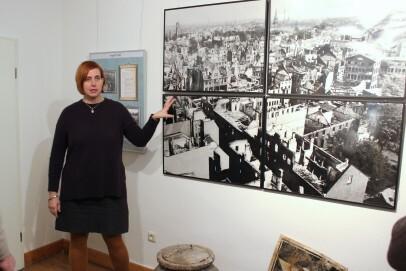 """Die Dauerausstellung der NS-Dokumentationsstelle zum Thema """"Krefeld im Nationalsozialismus"""""""