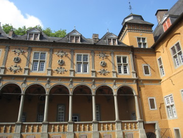 Arkadenhof des Museums Schloss Rheydt