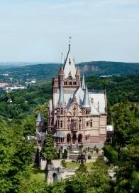 Schloss Drachenburg, Südansicht