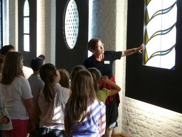 Kinderführung im Deutschen Glasmalerei-Museum Linnich