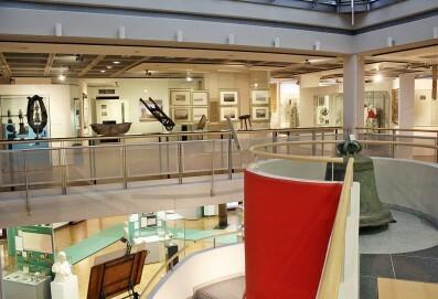 Blick in das Obergeschoss des Oberschlesischen Landesmuseums
