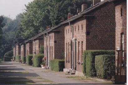 Blick in die Siedlung Eisenheim, die älteste Arbeitersiedlung im Ruhrgebiet