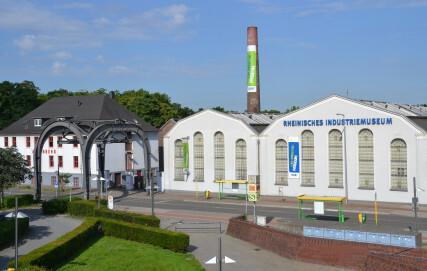 Außenansicht der historischen Zinkfabrik Altenberg des LVR-Industriemuseums