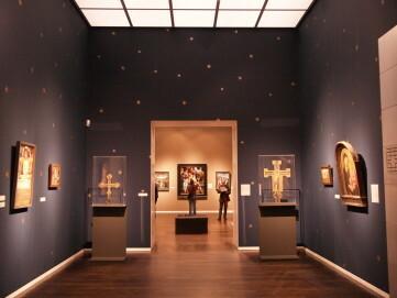 Mittelalterabteilung im Wallraf-Richartz-Museum, Saal 1