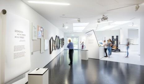Papiermuseum Düren, Blick in die Dauerausstellung