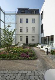 Museum August Macke Haus, Ansicht des Künstlerhauses vom Garten