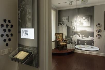 Museum August Macke Haus, Künstlerhaus: ehem. Wohnzimmer 1. OG