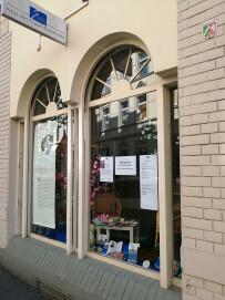 Museumseingang Haus der Frauengeschichte (HdFG)